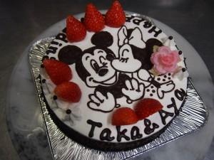 誕生日ケーキ ディズニー