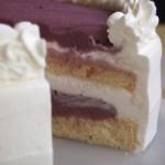Gateau aux Automne/紫芋とマロングラッセ