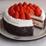 Gateau Kirsh/チョコレートストロベリーショートケーキ