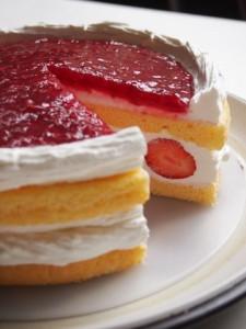 Gateau Raspberry/ラズベリーショートケーキ