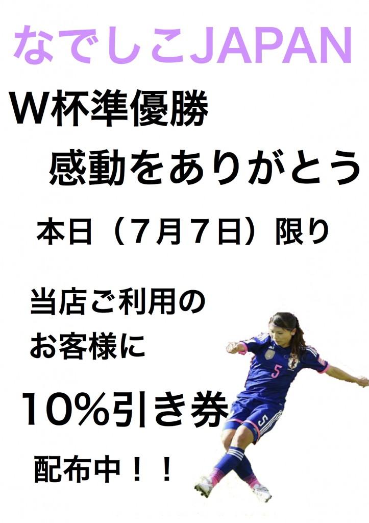 """""""なでしこ 2015""""のプレビュー"""